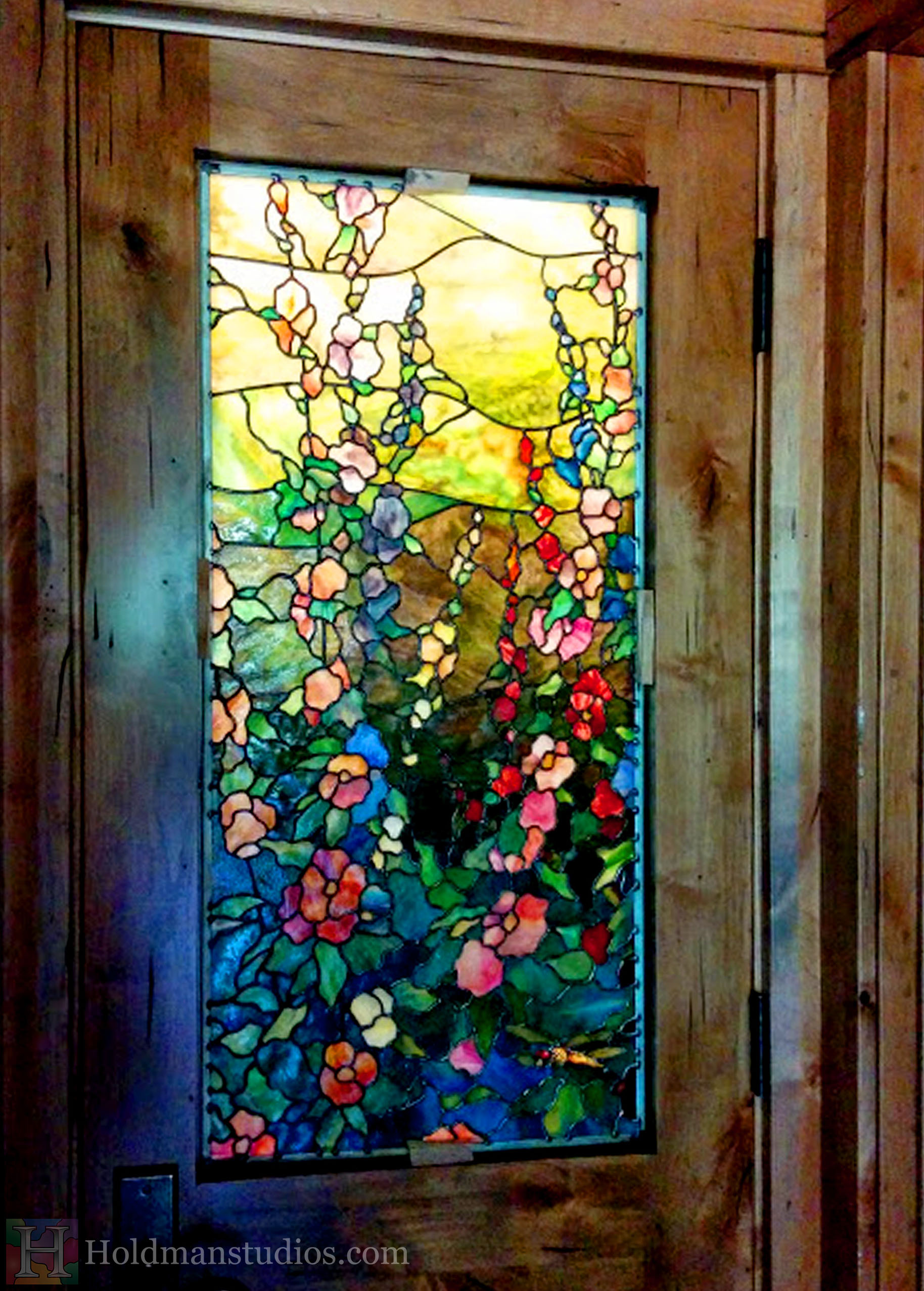 Prodigious Stained Glass Kitchen Door Window Close Up And A Cabin Retreat Hman Studios Stained Glass Doors Ireland Stained Glass Doors Glasgow houzz-02 Stained Glass Doors