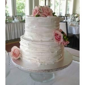 Corner Purple Two Tier Wedding Cakes S Small Two Tier Wedding Cakes Buggy Whip Bakery Two Tier Wedding Cake
