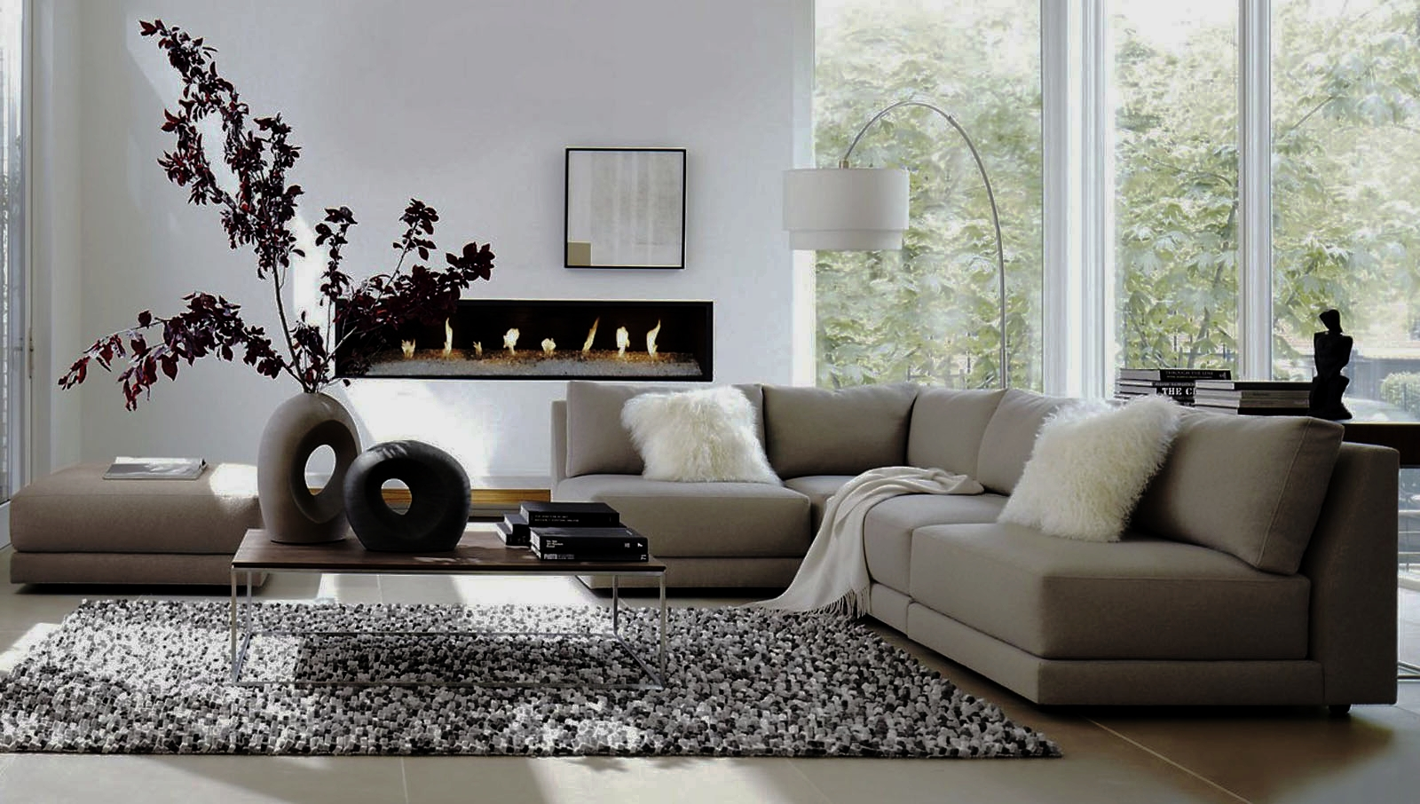 furniture charming modern adorable living room of best 2 8