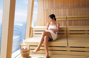 cruise sauna