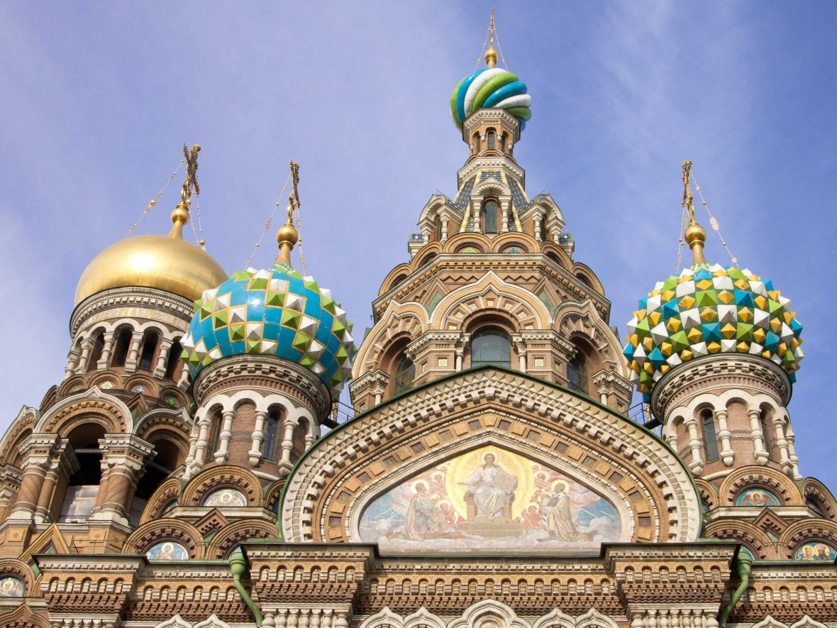 #7 Church of Our Savior on Spilled Blood, St. Petersburg, Russia