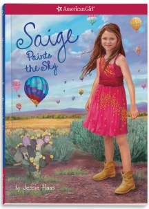 Saige Paints The Sky Book