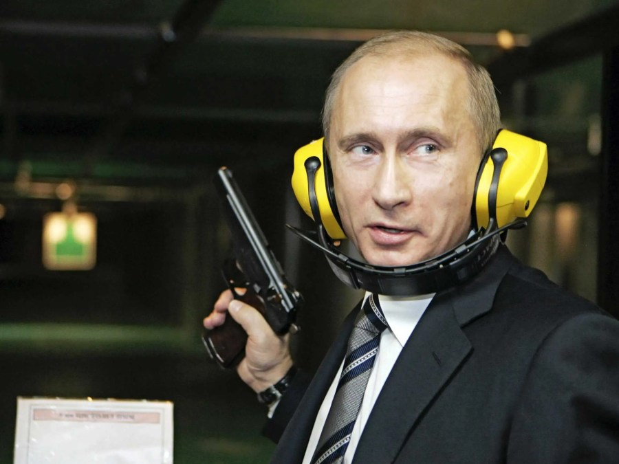 A 16-year veteran of the KGB, Putin knows his way around a gun. After his retirement in 1991, he rapidly rose through Russian politics to become top dog in the world's largest nation.