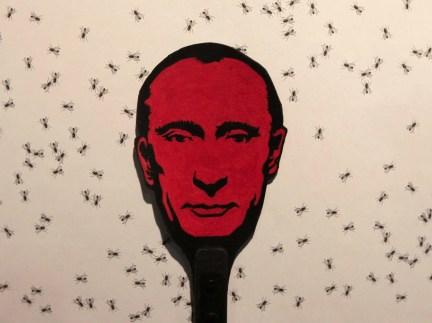 Putin fly swatter