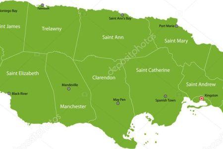 depositphotos 2984982 jamaica map