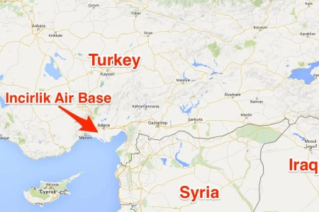 turkey will allow us use of air base to launch strikes
