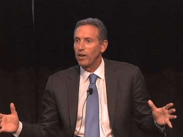 Starbucks CEO Howard Schultz was a Xerox salesman