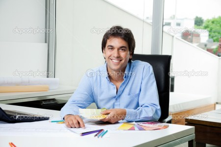 depositphotos 12223512 male interior designer at work