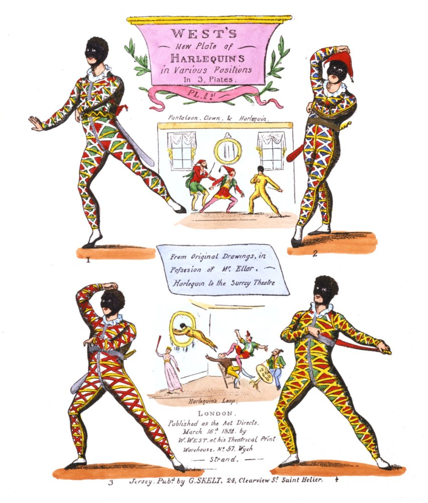 Random Research: A Short History of Pantomime (1/4)