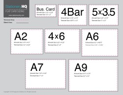 Small Of Business Card Standard Size
