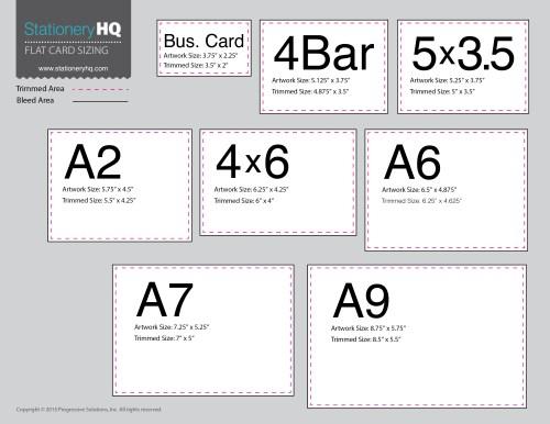 Medium Of Business Card Standard Size