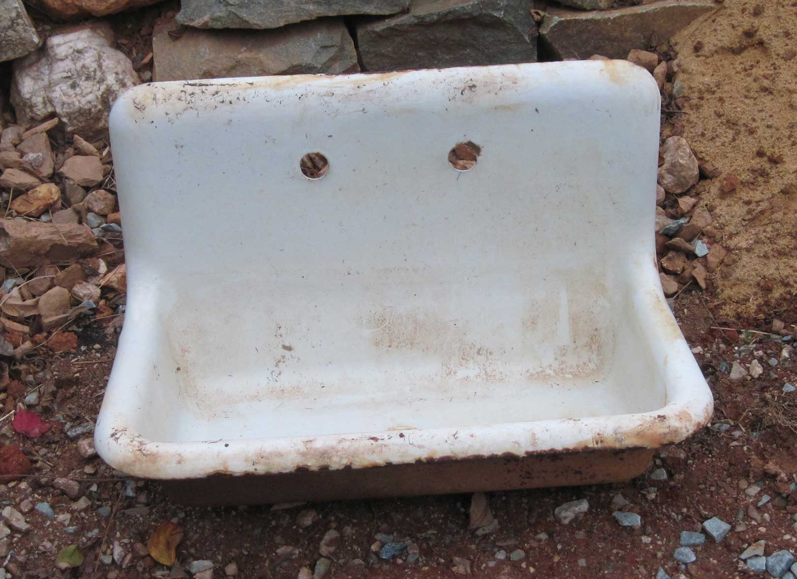 cast iron sink as a work of art vintage kitchen sink Apparently