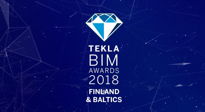 Tekla BIM Awards Finland & Baltics 2018