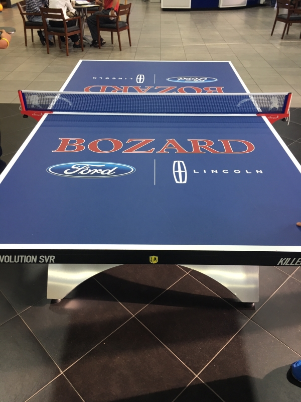 ping pong table graphic