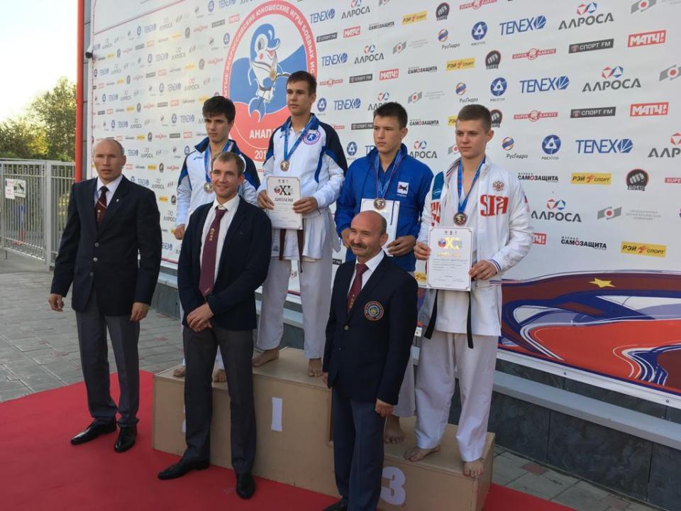 Владислав Чернов — победитель XI открытых Всероссийских юношеских игр боевых искусств
