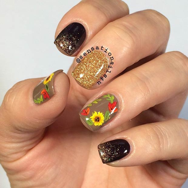Cool Nail Designs For Fall: 10 Cool Nail Designs To Try This Fall