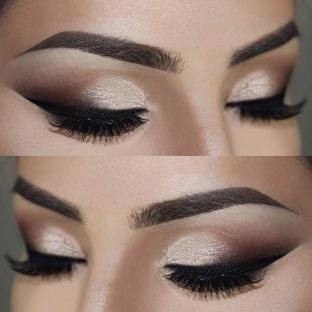 Smokey Wedding Eye Makeup Look
