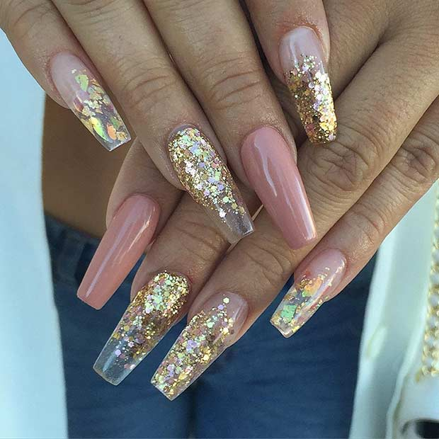 25 Fun Ways to Wear Ballerina Nails - crazyforus