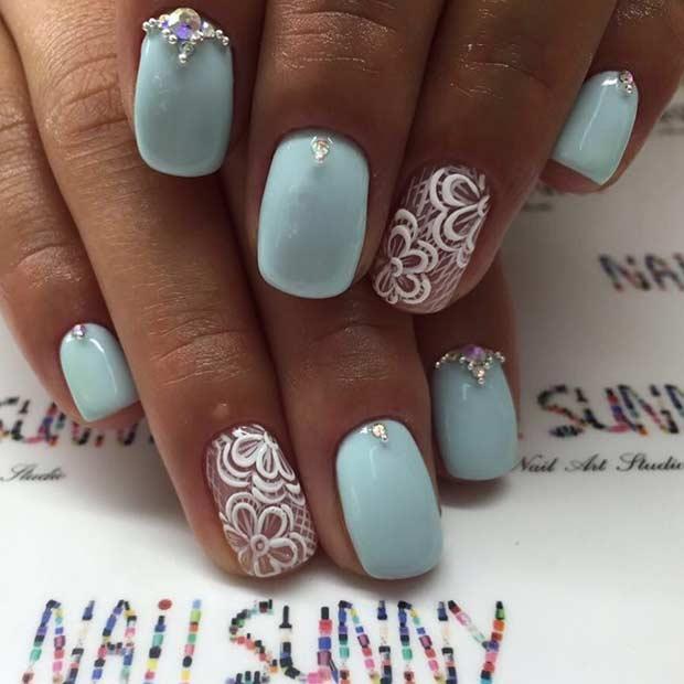 elegant nail art design