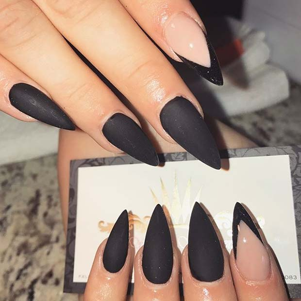 12 must have matte nail designs for fall crazyforus 12 must have matte nail designs for fall prinsesfo Image collections
