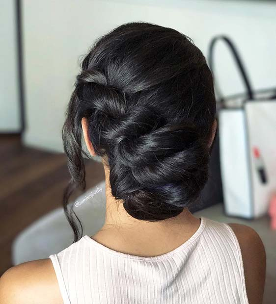 Rope Braided Up Style
