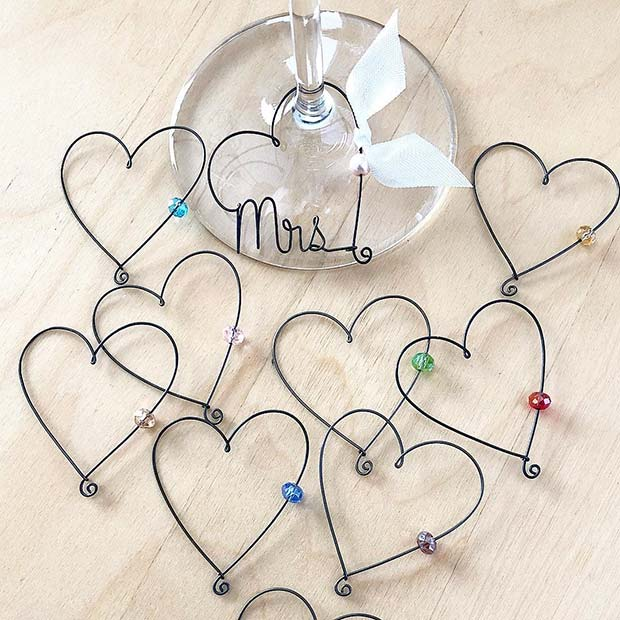 Cute Wine Charm Favors