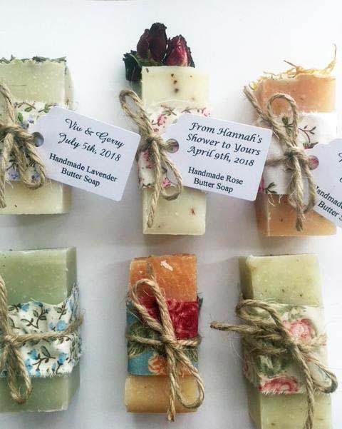 Handmade Soap Bridal Shower Favor