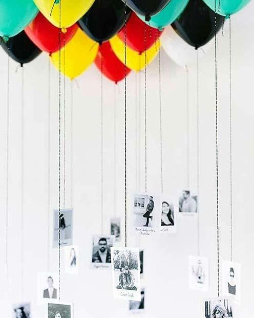 Creative Balloons and Photos