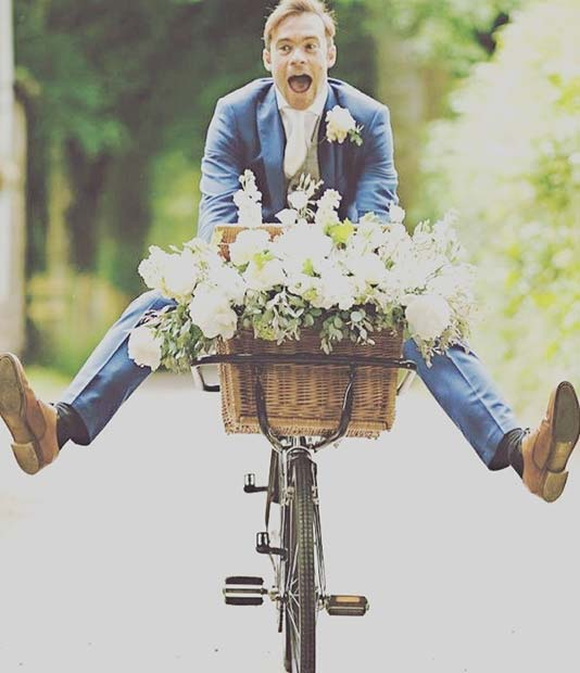 Fun Wedding Bicycles for an Outdoor Wedding