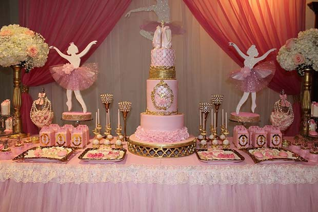 Pretty Ballerina Baby Shower