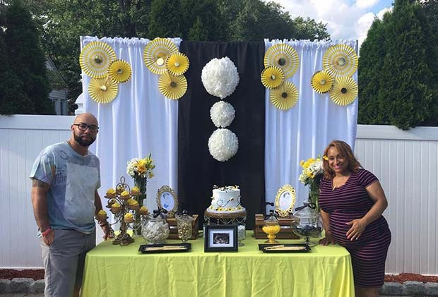 Summer Baby Shower Bee Theme
