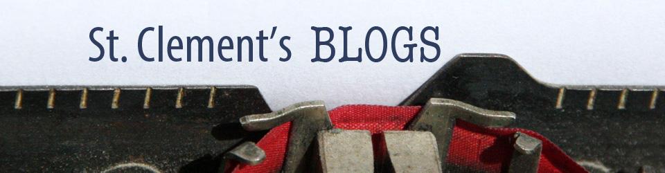 St. Clement's Blogs