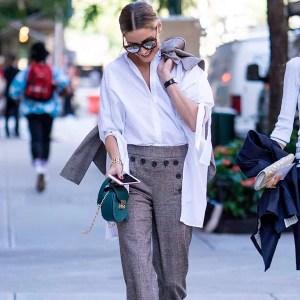 street-style-olivia-palermo-calca-culotte-xadrez-blazer-xadrez-crop
