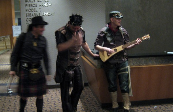 Abney park at world steam expo playing rainbow connection