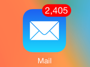 Email Flood Inbox