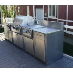 Small Crop Of Outdoor Kitchen Cabinets