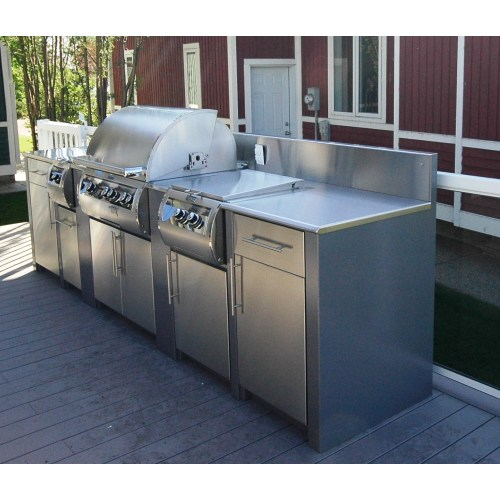 Medium Crop Of Outdoor Kitchen Cabinets