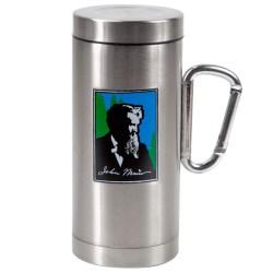 Enticing Silver Oz Muir Tumbler Carabiner Handle Steelys Drinkware Glass Mugs Handles Lids Glass Beer Mugs Handles furniture Drinking Mugs With Handles