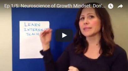 neuroscience of growth mindset episode 1 of 5