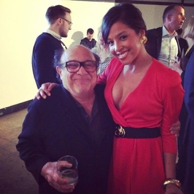 2014 Tribeca Film Festival ( Make Your Mark Event) -I met Danny Devito!!!!!