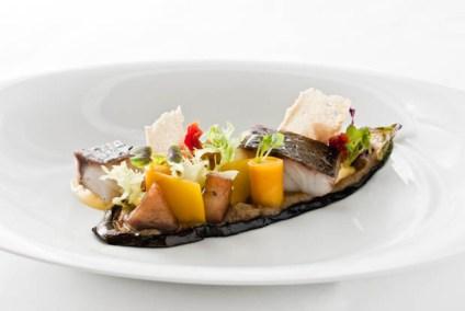 3 x Aubergine - Adlerfisch - Orange - Sauce Rouille