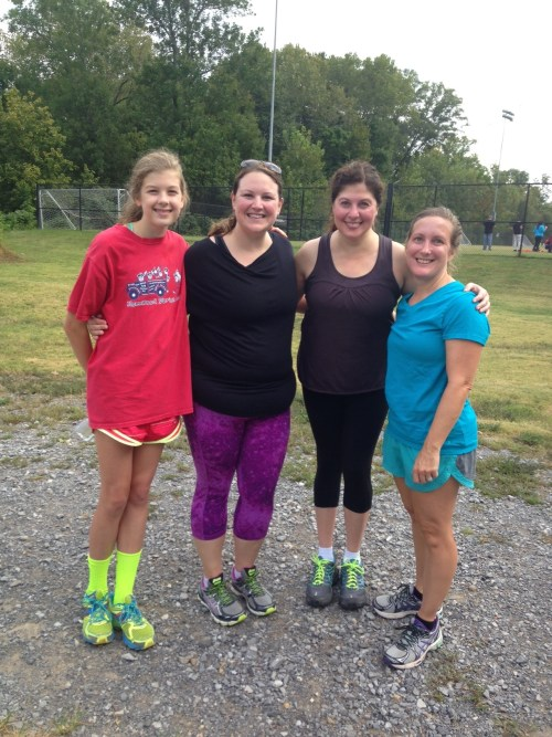 Thanks for coming, Mary Eliza, Emily and Dawn!