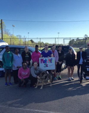 Thanks to everyone who attended the April 2 Makeshift 5k! What a great group!