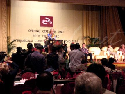 ICAS5 Dinner with Deputy Prime Minister Datuk Seri Najib Tun Razak