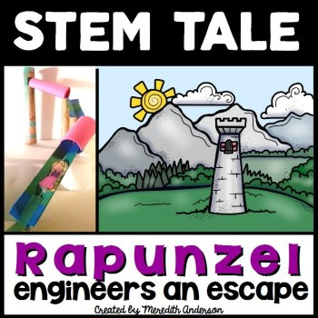 Rapunzel engineers an escape brighter cover