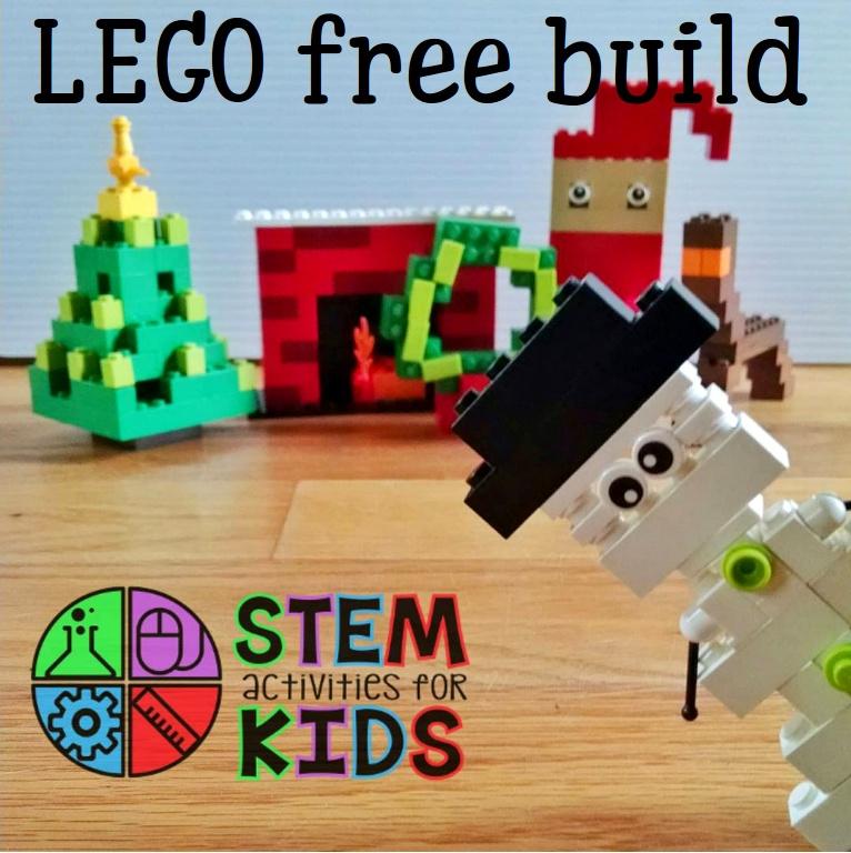 LEGO STEM holiday building