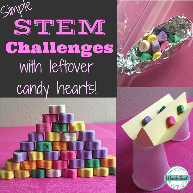 STEM Activities with Candy Hearts
