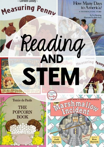 Here's a blog post with ideas of STEM challenges to use with picture books!