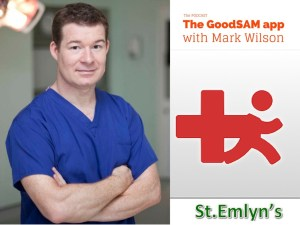 PODCAST update with Mark Wilson on the GoodSAM app at the London Trauma Conference