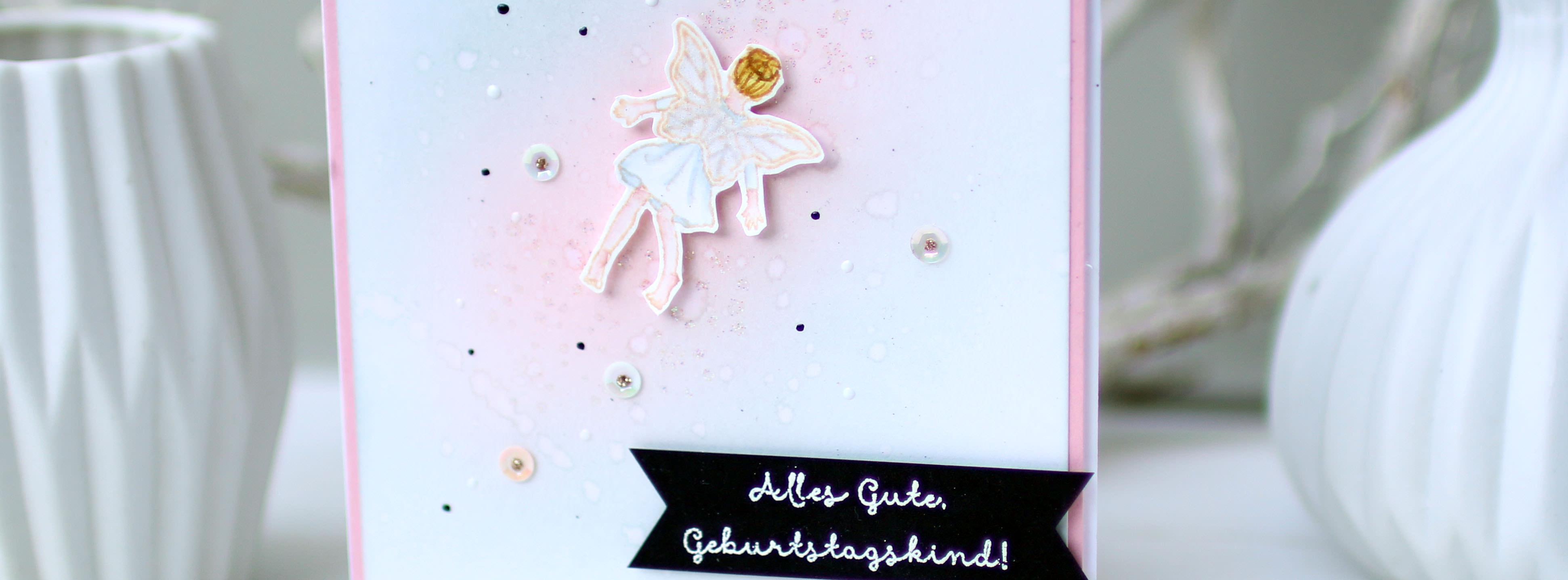 Eine zauberhafte Geburtstagskarte